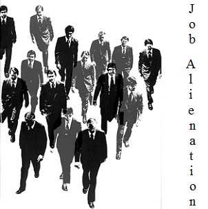 پرسشنامه بیگانگی شغلی (JA)