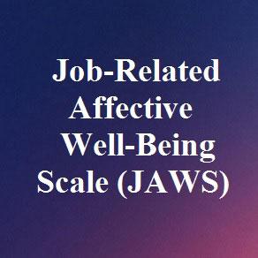 مقیاس بهزیستی عاطفی مرتبط با شغل فرم کوتاه (JAWS)