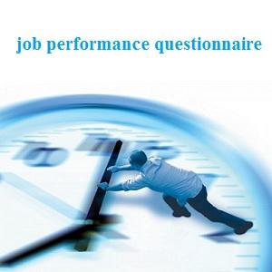 پرسشنامه عملکرد شغلی پاترسون (JPQ)