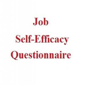 پرسشنامه خودکارآمدی شغلی (JSEQ)