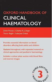 کتاب لاتین راهنمای آکسفورد هماتولوژی بالینی (2009)