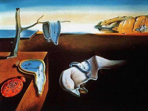 نقدی بر نقاشی تداوم حافظه اثر سالوادور دالی