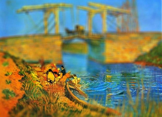 نقاشی پل لنگلوئیس در ارل ونسان ون گوگ