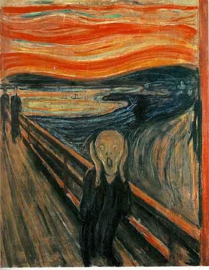 تابلو جیغ اثر ادوارد مونش