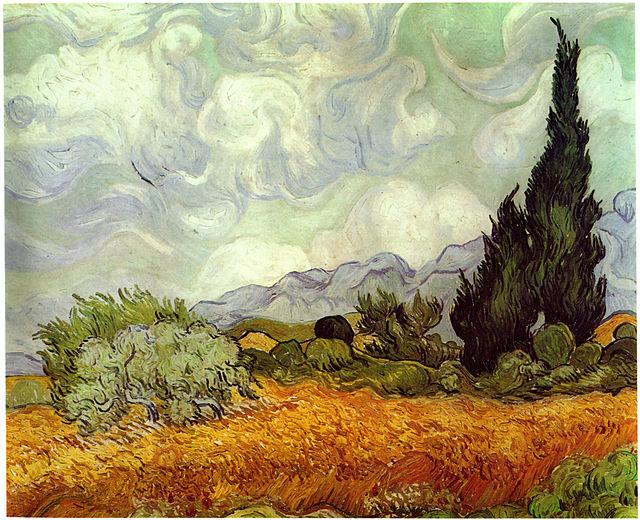 Image result for نقاشی ونگوگ