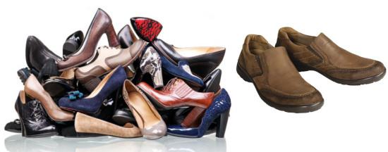 تعداد کفش