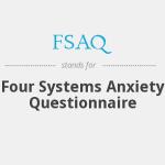 پرسشنامه چهار سامانه ای اضطراب (FSAQ)