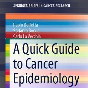 کتاب لاتین راهنمای سریع برای اپیدمیولوژی سرطان (2014)