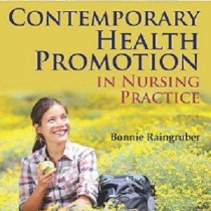 کتاب لاتین ارتقای سلامت عصر حاضر در کاربست پرستاری (2014)