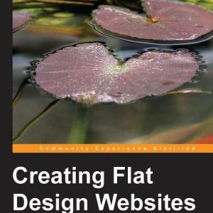 کتاب لاتین طراحی وب سایت فلت