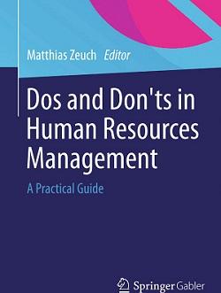 کتاب لاتین بایدها و نبایدها در مدیریت منابع انسانی (2015)