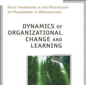 کتاب لاتین پویایی و تغییر یادگیری سازمانی (2004)