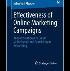 کتاب لاتین اثربخشی کمپینهای بازاریابی آنلاین (2013)