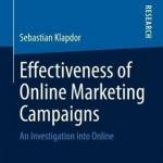 کتاب لاتین اثربخشی کمپین های بازاریابی آنلاین (2013)