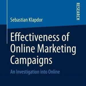 کتاب لاتین اثربخشی کمپین های بازاریابی آنلاین