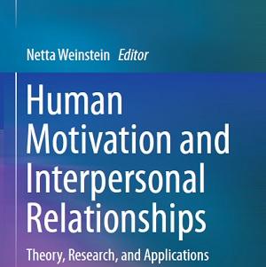 کتاب لاتین انگیزش انسانی و روابط میان فردی (2014)