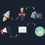 قالب پاورپوینت INVESTOR برای ارائه اقتصادی و بازاریابی
