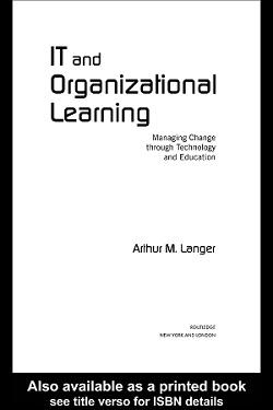 کتاب لاتین فناوری اطلاعات و یادگیری سازمانی (2005)