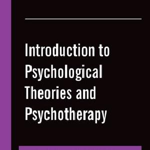 کتاب لاتین مقدمه ای بر نظریه های روانشناسی و روان درمانی