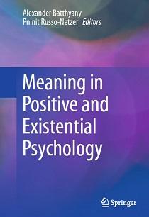 کتاب لاتین معنا در روانشناسی مثبت گرا و وجودی