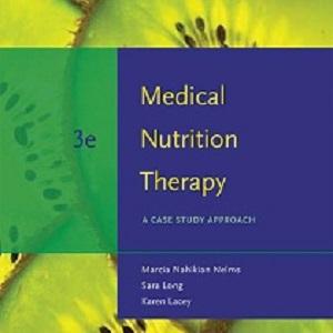کتاب لاتین تغذیه درمانی پزشکی: رویکرد مطالعه موردی (2009)