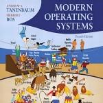 کتاب لاتین سیستم های عامل مدرن (2015)
