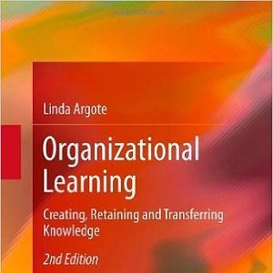 کتاب لاتین یادگیری سازمانی؛ ایجاد، حفظ و انتقال دانش (2013)