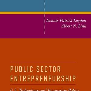 کتاب لاتین کارآفرینی بخش دولتی (2015)