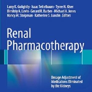 کتاب لاتین درمان دارویی کلیوی (2013)
