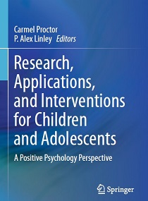 کتاب لاتین پژوهش، کاربرد و مداخله از دیدگاه روانشناسی مثبت گرا برای کودکان و نوجوانان