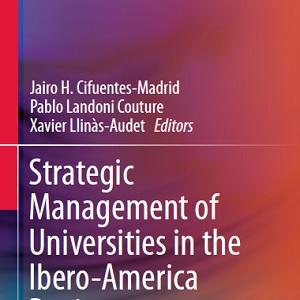 کتاب لاتین مدیریت استراتژیک دانشگاه ها در منطقه ایبرو در آمریکا