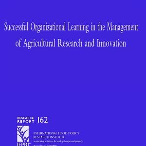 کتاب لاتین یادگیری سازمانی موفق در مدیریت تحقیق کشاورزی و نوآوری (2009)