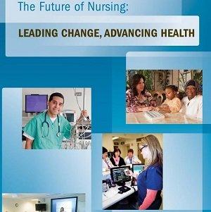 کتاب لاتین آینده پرستاری: تغییر رهبری، پیشرفت سلامت (2011)