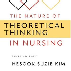 کتاب لاتین ماهیت تفکر نظری در پرستاری (2010)