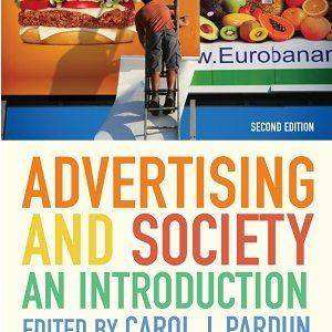 کتاب لاتین تبلیغات و جامعه (2014)