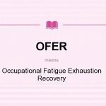 پرسشنامه بازیابی خستگی / خستگی مفرط شغلی (OFER)