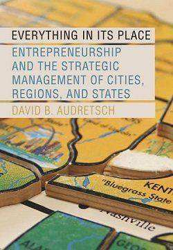 کتاب لاتین کارآفرینی و مدیریت استراتژیک شهرها، مناطق و ایالات (2015)