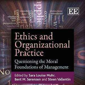 کتاب لاتین اخلاقیات و تکنیک سازمانی؛ بررسی مبانی اخلاقی مدیریت