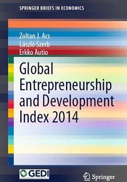 کتاب لاتین کارآفرینی جهانی و شاخص توسعه (2015)