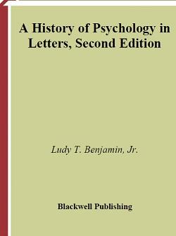 کتاب لاتین تاریخ روانشناسی در نامهها