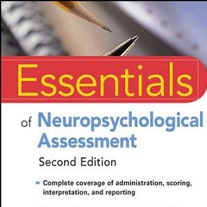 کتاب لاتین ضروریات ارزیابی نوروسایکولوژیکی