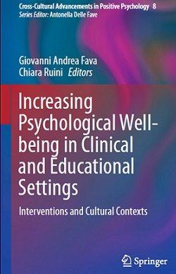 کتاب لاتین افزایش بهزیستی روانشناختی در محیط های بالینی و آموزشی