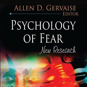 کتاب لاتین روانشناسی ترس؛ تحقیقات جدید