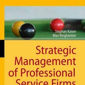 کتاب لاتین مدیریت استراتژیک شرکتهای خدماتی حرفهای