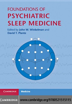 کتاب مبانی روانپزشکی درمان اختلالات خواب