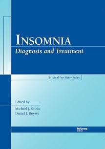 کتاب بی خوابی: تشخیص و درمان