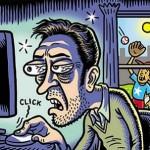 نکاتی جالب درباره اعتیاد اینترنتی