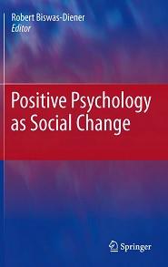 کتاب روانشناسی مثبت گرا به عنوان یک تغییر اجتماعی