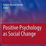 کتاب روانشناسی مثبت گرا به عنوان یک تغییر اجتماعی (2011)
