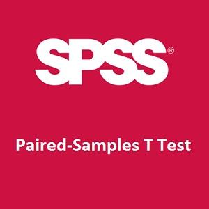 تحلیل t زوجی یا آزمون تی وابسته در SPSS